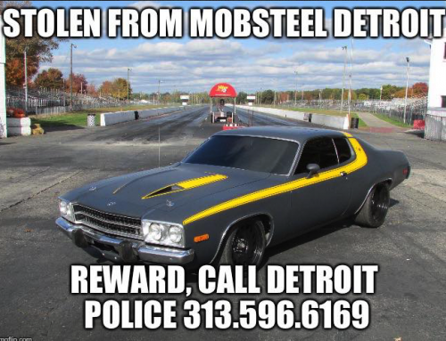 STOLEN – Mobsteel 1974 Road Runner