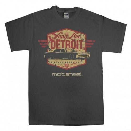 """Long Live Detroit"" charcoal crew"