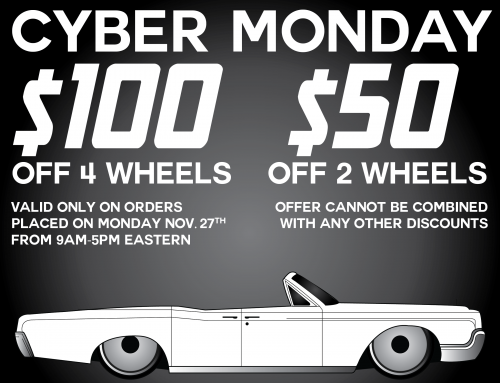 Cyber Monday Wheel Deal! 11/27/17