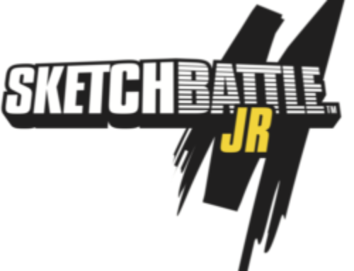 Sketchbattle Jr Mobsteel Coloring Book – Week 8